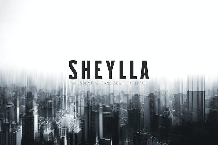 Thumbnail for Sheylla Sans Serif Typeface