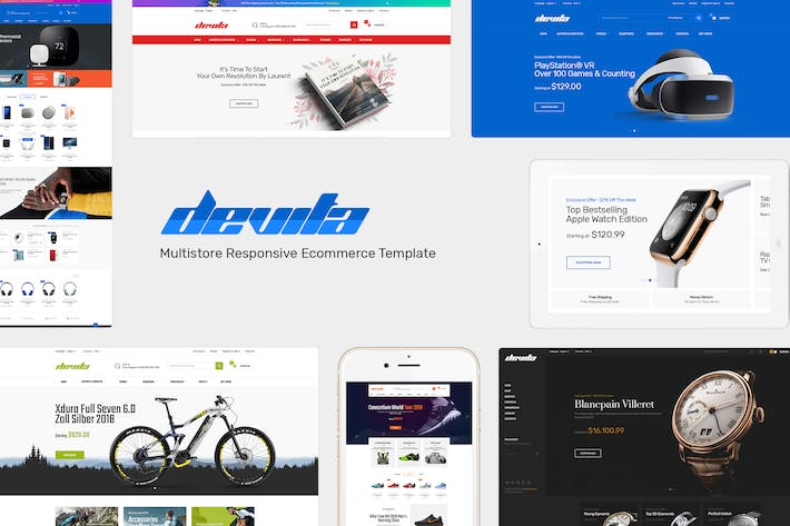Thumbnail for Devita - Responsive PrestaShop Theme