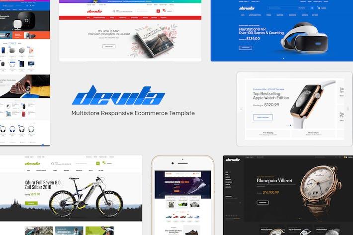 Cover Image For Devita - Responsive PrestaShop Theme
