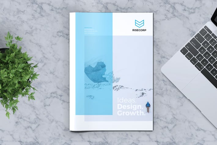 Thumbnail for Creative Brochure Template Vol. 18