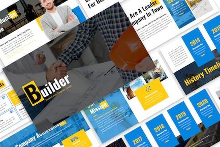 Builder - Business Template Prensentation