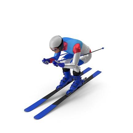 Slide Down Skier Generic