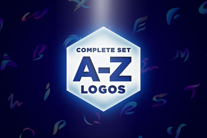 Cover Image For Modern Vivid Alphabet Logos