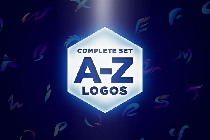 Thumbnail for Modern Vivid Alphabet Logos