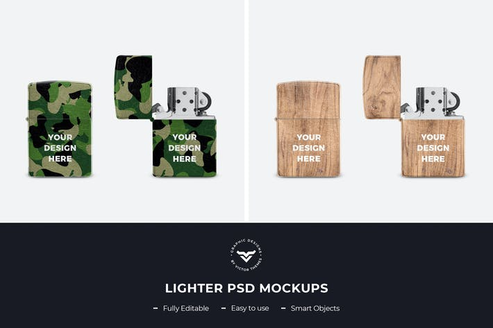 Thumbnail for Lighter PSD Mockup