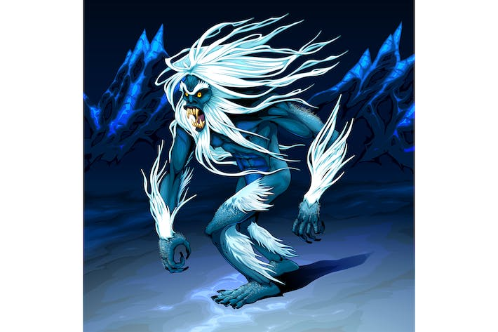 Thumbnail for Yeti is Walking in the Night