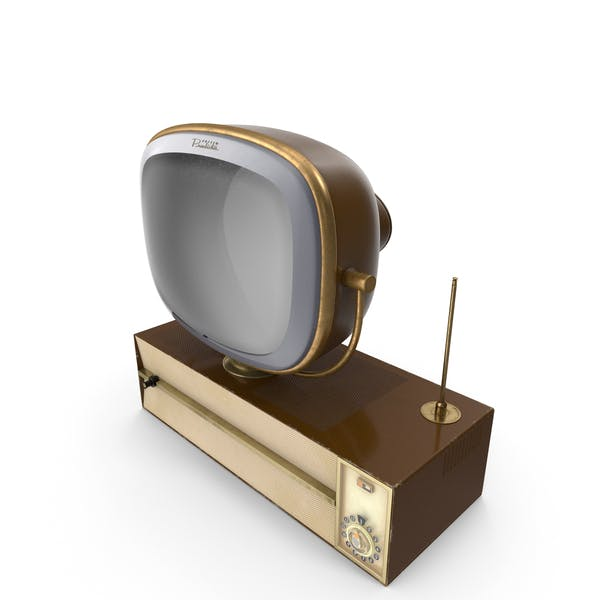 Vintage Antique 50s TV
