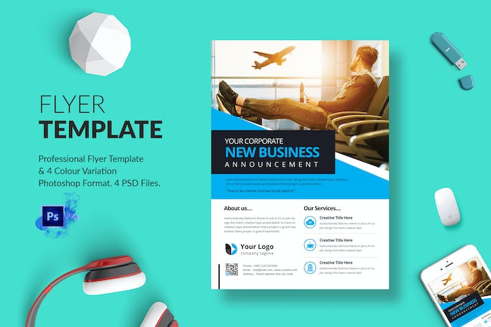 Thumbnail for Business Flyer Template 11