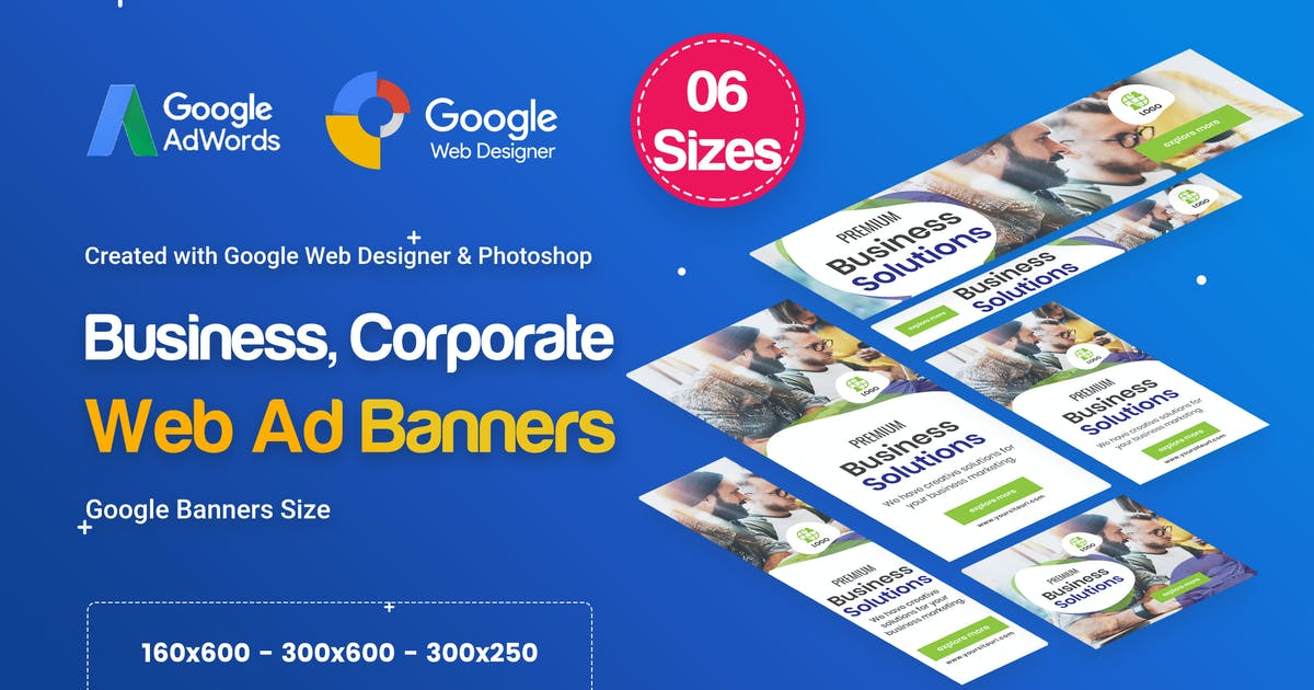 Download Business, Corporate Banners HTML5 D26 - GWD by iDoodle