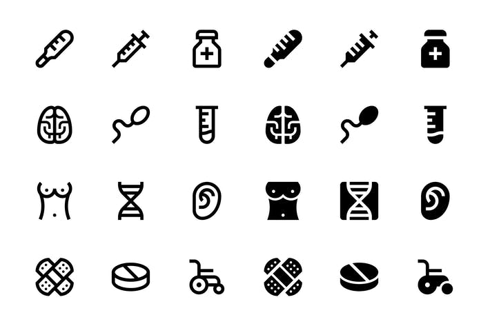 Thumbnail for 48 Medicine Icons