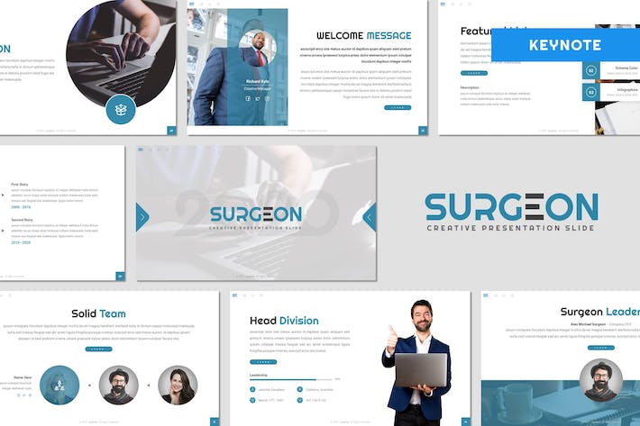 Surgeon - Business Keynote Template