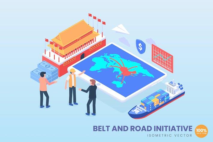 Gürtel- und Straßeninitiative Wirtschaftliches Strategisches