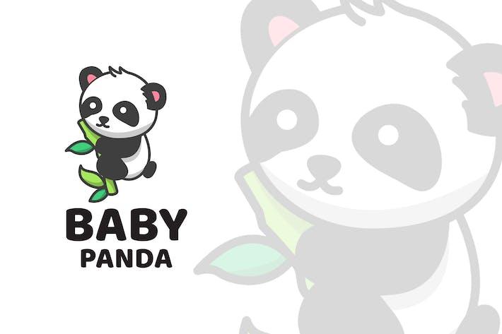 Thumbnail for Baby Panda Cute Logo Template