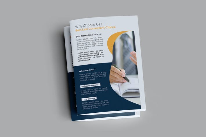 Thumbnail for Law Consultant Brochure