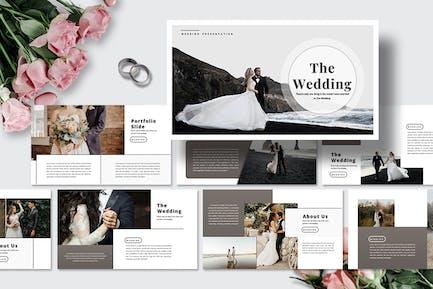 The Wedding - Keynote Template