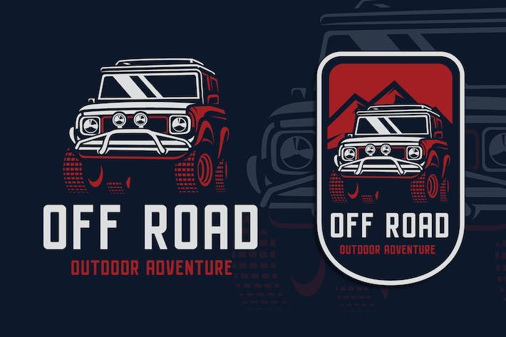 Thumbnail for Off Road Adventure Logo Template