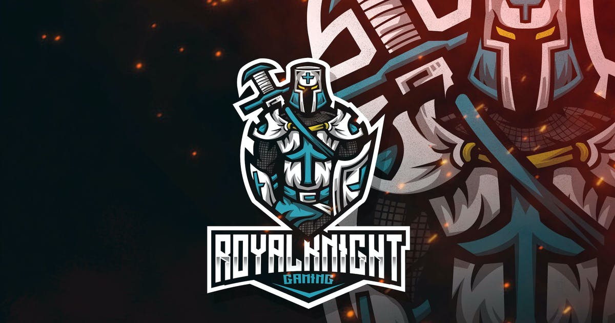 Download Royal Knight Esport Logo Template by StringLabs