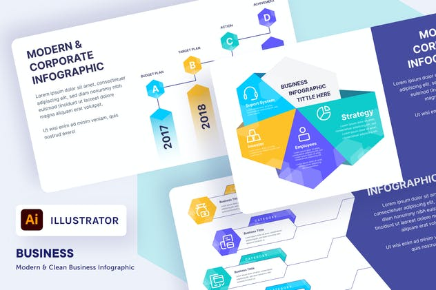 myAsset - Business Corporate Infographic