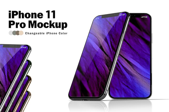 Thumbnail for iPhone 11 Pro макетов V.4
