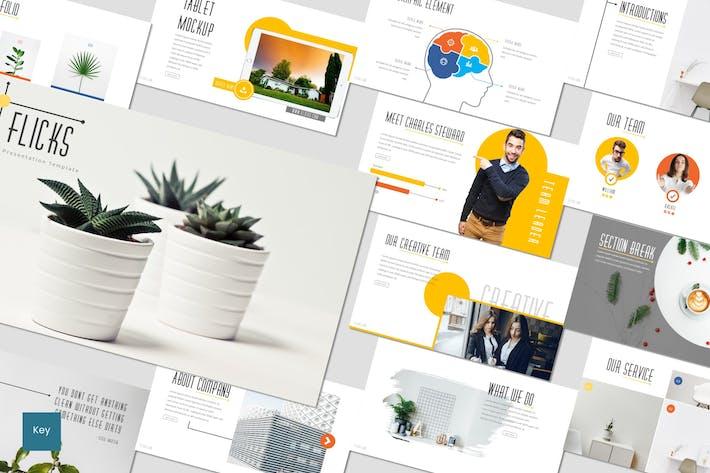 Thumbnail for Flicks - Keynote Template
