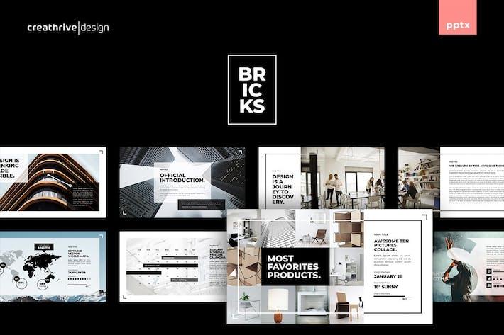 Thumbnail for Bricks PowerPoint