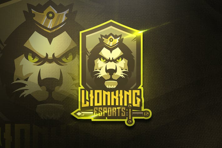 Thumbnail for Lion King - Mascot & Esport Logo