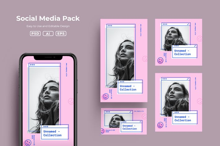 Thumbnail for Pack de médias sociaux ADL v3.15
