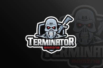 Terminator Mascot & eSports Gaming Logo