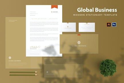 Global Business - Stationary