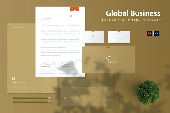 Thumbnail for Global Business - Stationary