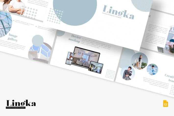 Thumbnail for Lingka - Google Slides Template