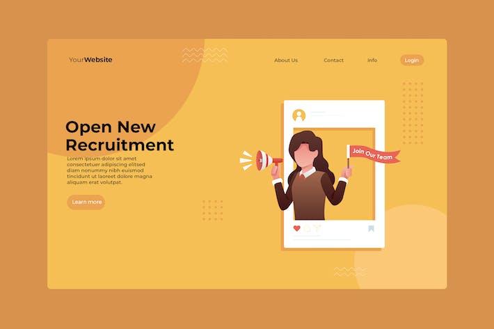 Thumbnail for Open New Recruitment
