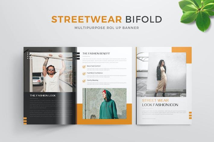 Streetwear   Bifold Brochure