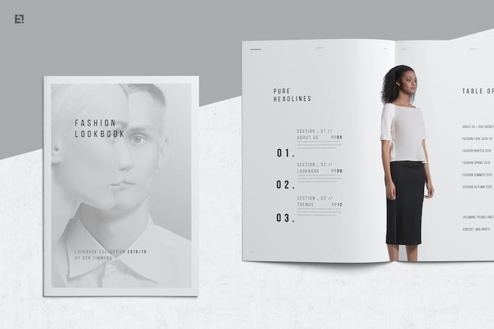 download 264 lookbook templates envato elements
