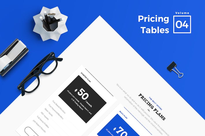 Thumbnail for Pricing Tables for Web Vol 04