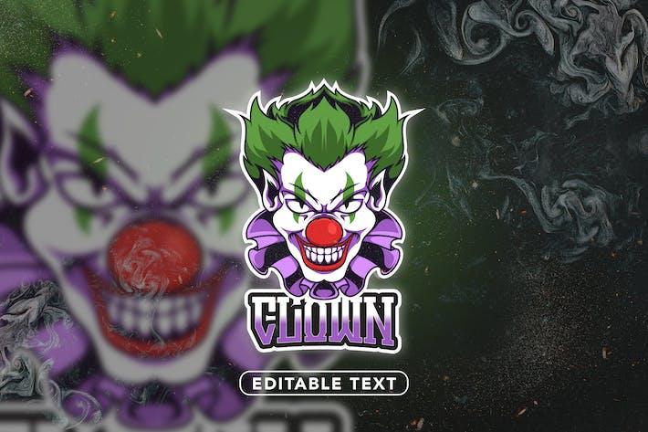 Clown - Mascot & Logo Esport