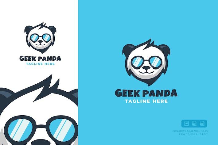 Thumbnail for Geek-Panda Logo Template