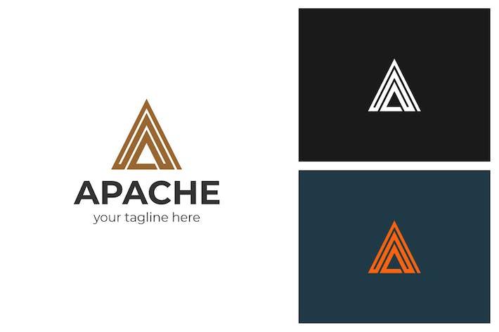 Thumbnail for Apache A Letter Logo