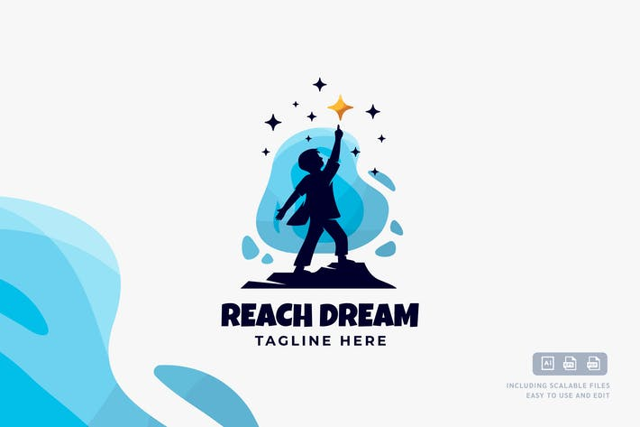 Reach Dream - Logo Design Template