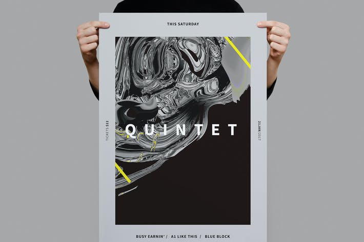 Thumbnail for Quintent Poster / Flyer