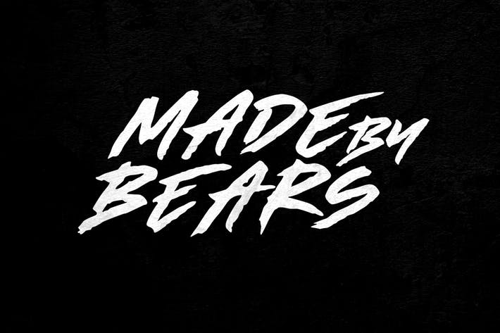 Thumbnail for Made by Bears - Font