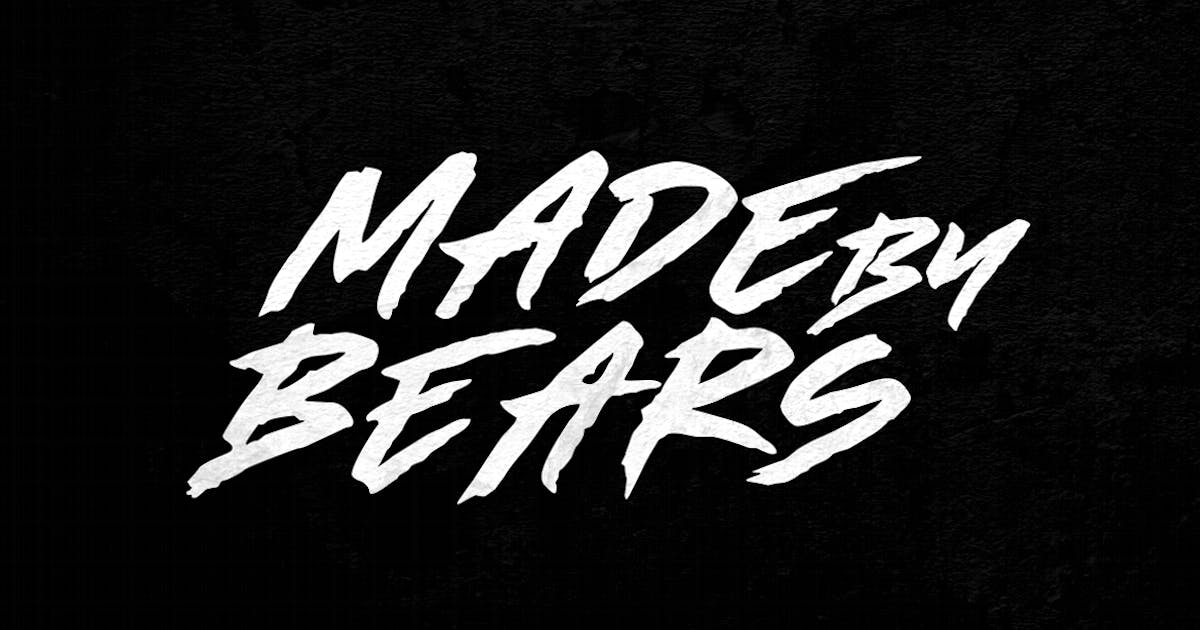 Download Made by Bears - Font by TheBrandedQuotes