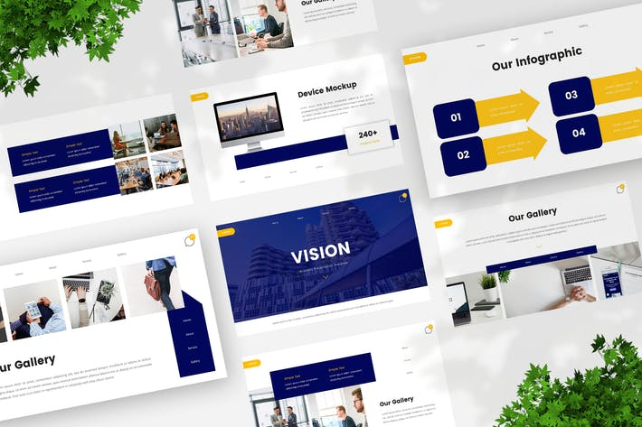 Thumbnail for Business Creative Keynote Template
