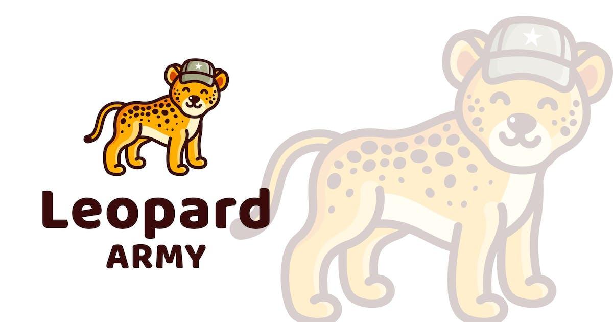 Download Leopard Army Kids Cute Logo Template by IanMikraz