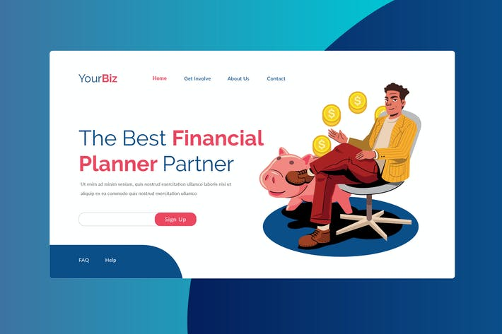 Thumbnail for Financial Plan Landing Page