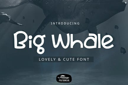 Big Whale Font