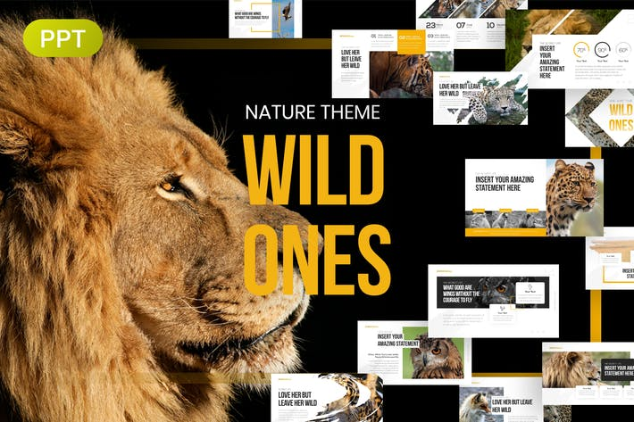 Thumbnail for WildOnes Nature & Wildlife PowerPoint Template
