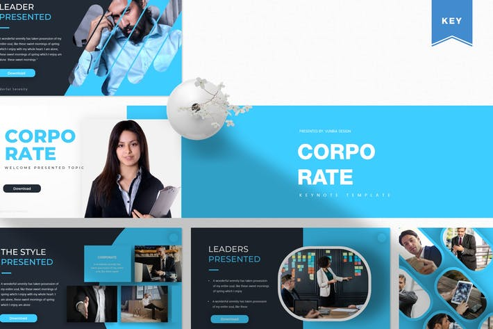 Thumbnail for Corporate  | Keynote Template