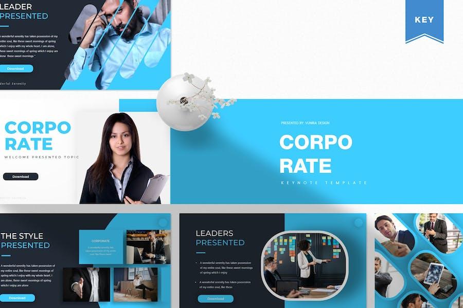 Corporate  | Keynote Template
