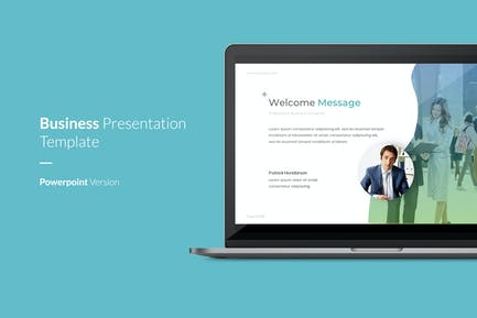 Professional - Business Powerpoint-Vorlage